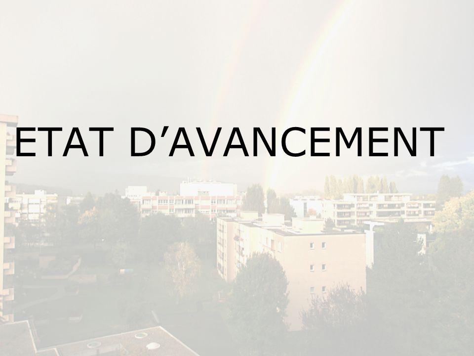 ETAT DAVANCEMENT