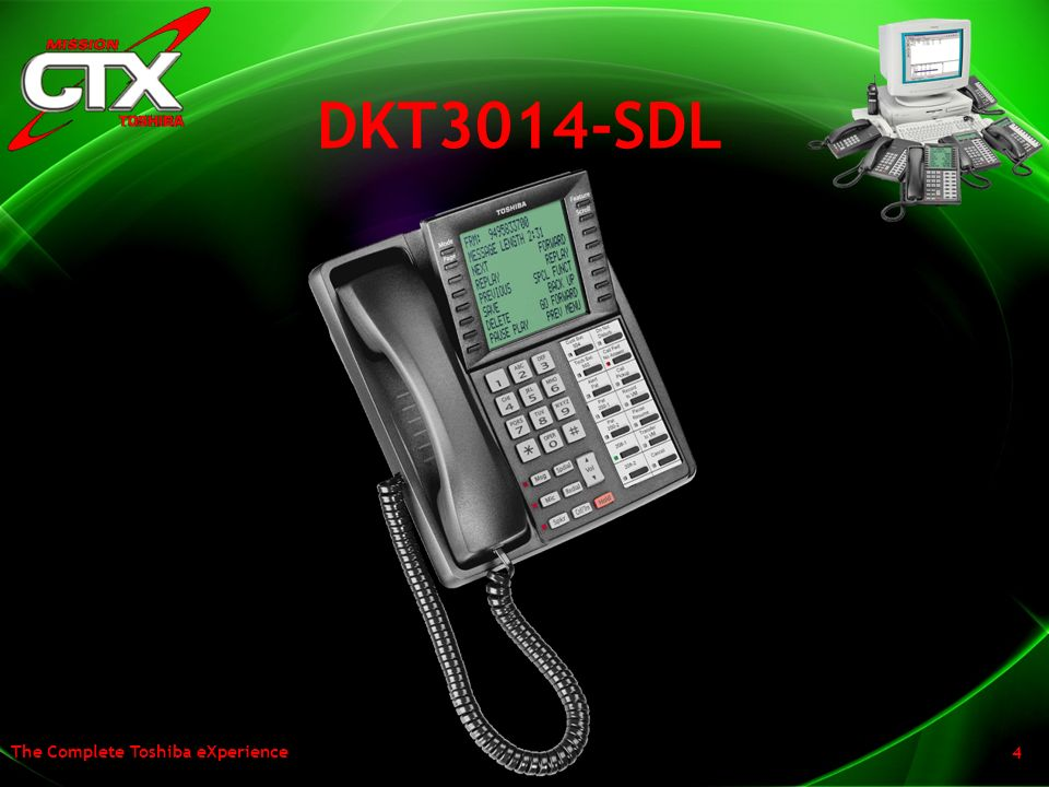 The Complete Toshiba eXperience 4 DKT3014-SDL