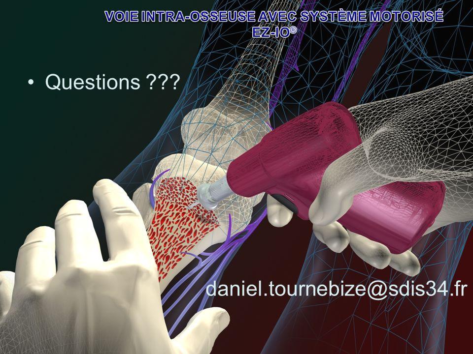 Questions ??? daniel.tournebize@sdis34.fr