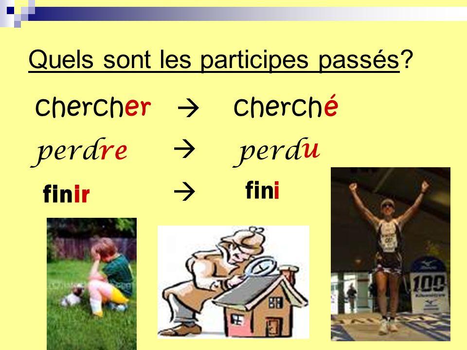 Comment conjuguer un verbe au passé composé? avoir + participe passé Voici la formule: