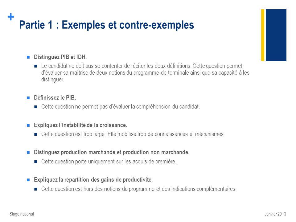 + Éléments pour la formation des élèves à lépreuve composée Stage national Étude de document - ÉC2: Établir les liens entre un document et le(s) savoir-faire du programme.
