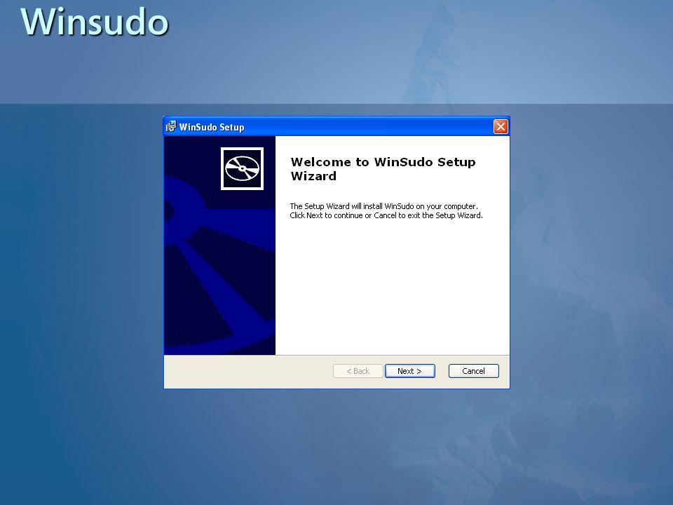 Winsudo