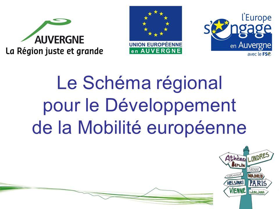 Le Schéma régional pour le Développement de la Mobilité européenne