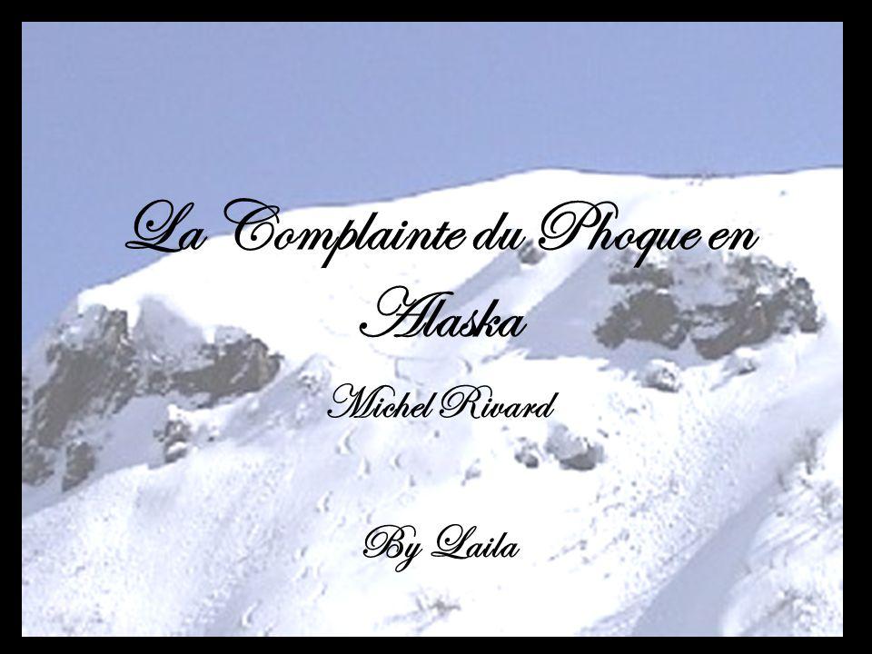 Pierre Habit: Alaska Sentiment Current: Tres Triste Quequpart en Alaska, ya un phoque qui sennuie en maudit.