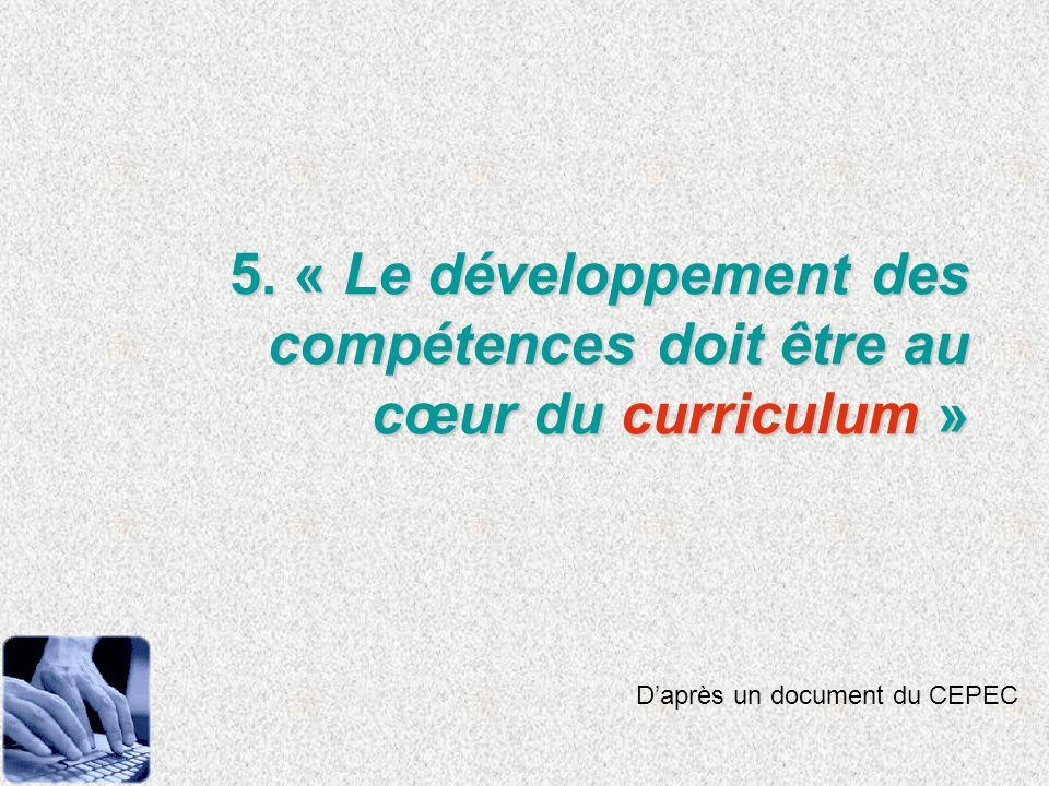18. Quel dispositif de formation, dencadrement et daccompagnement pour les enseignants ?