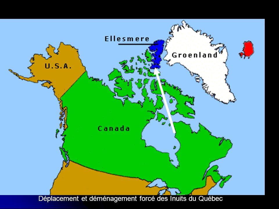 Déplacement et déménagement forcé des Inuits du Québec