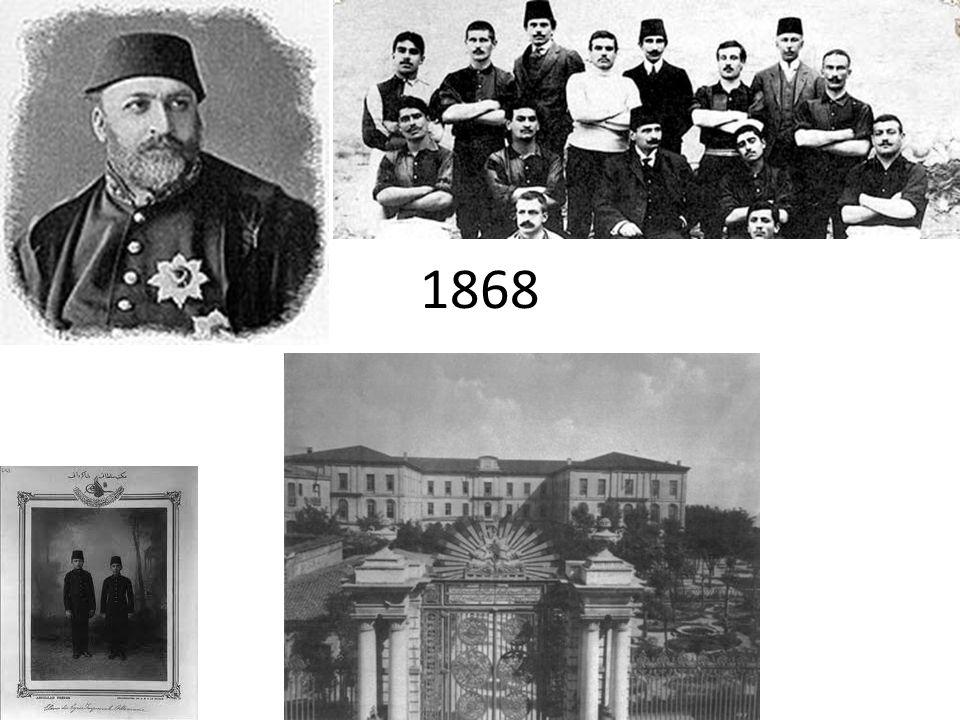 Les écoles modernes Un nouveau degré à léducation ottomane est ajouté, celui des lycées –que lon appelle mekteb-i sultani (école du sultan), le premier et le plus célèbre étant le lycée impériale de Galatasaray fondé en 1868.