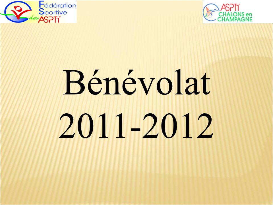 Bénévolat 2011-2012