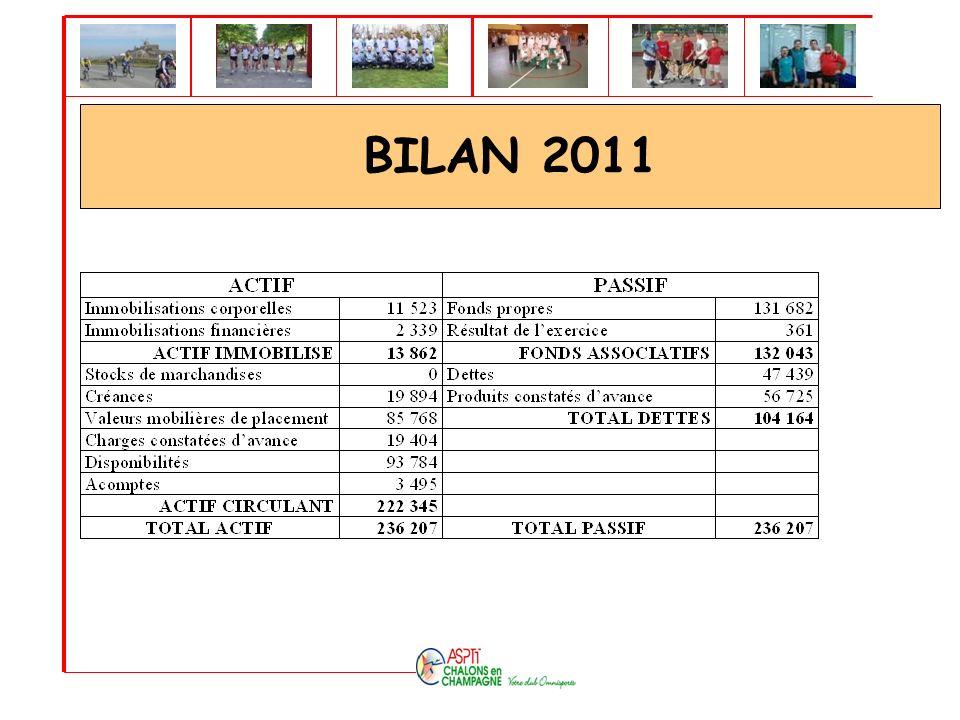 BILAN 2011
