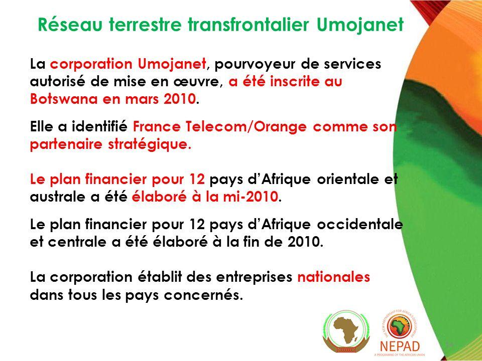 Umojanet: Extension de lenvironnement propice Pays en cours dexamen du protocole Pays nayant pas encore examiné le protocole