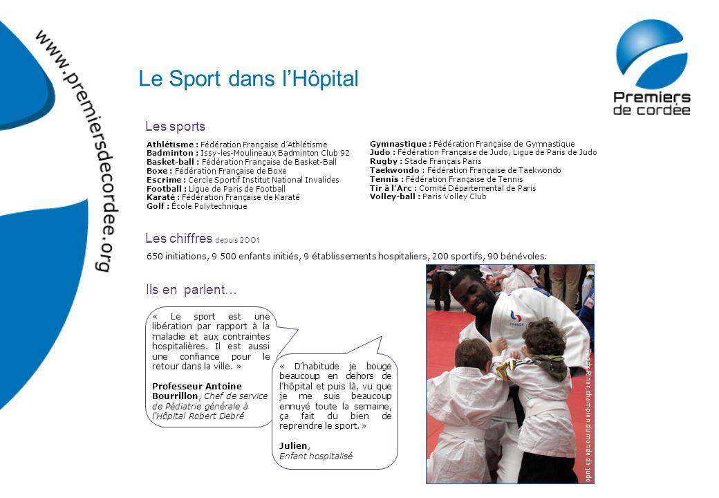 Les sports Les chiffres depuis 2OO1 Ils en parlent… Athlétisme : Fédération Française dAthlétisme Badminton : Issy-les-Moulineaux Badminton Club 92 Ba