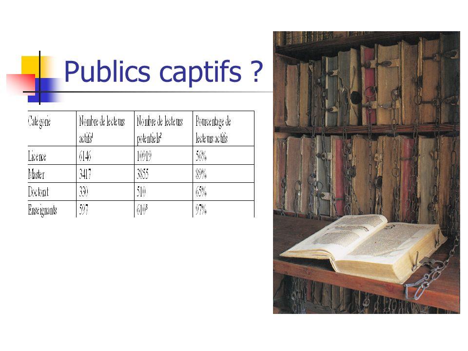 Publics captifs