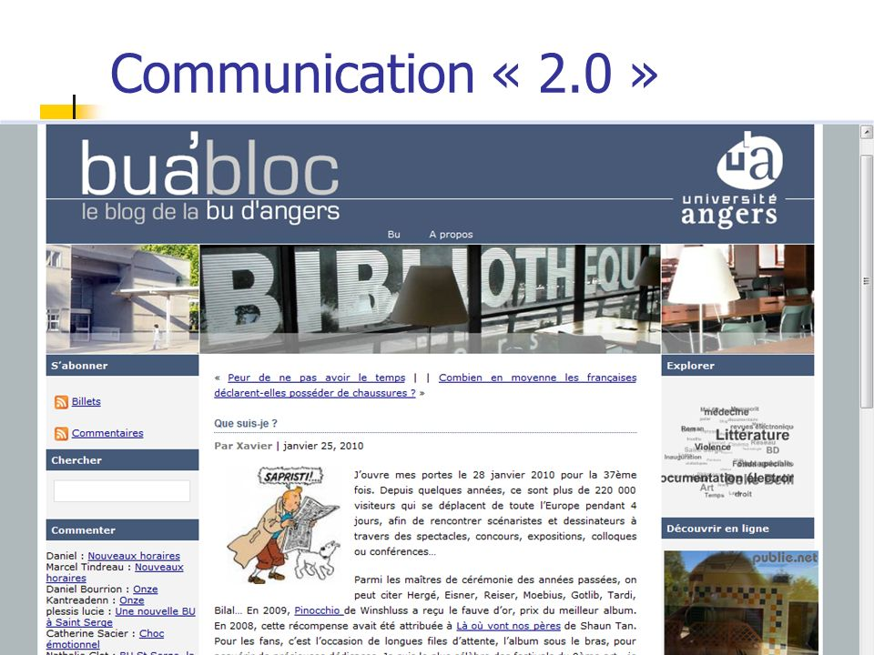 Communication « 2.0 »