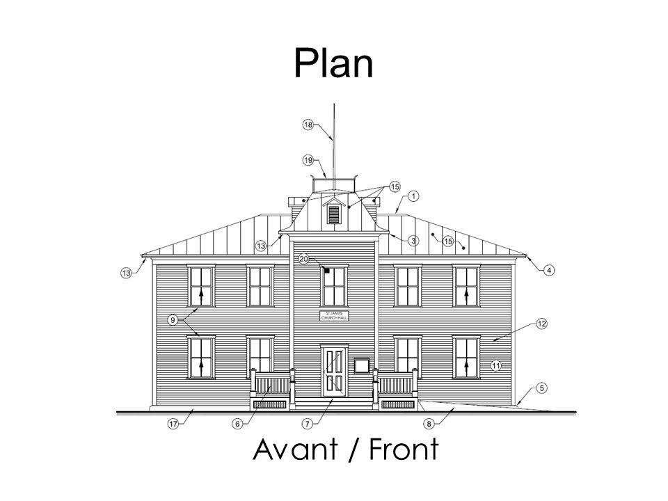 Avant / Front Plan