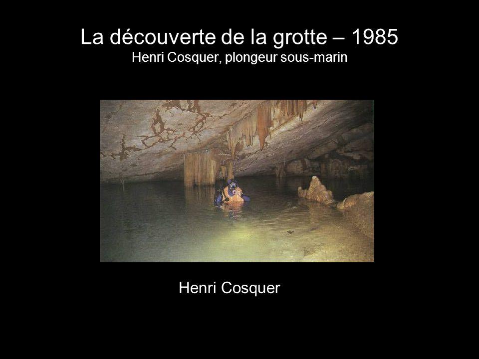 Un lieu dangereux Trois plongeurs meurent dans la galerie daccès - 1991 Lentrée de la grotte est murée