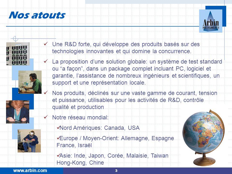 Une R&D forte, qui développe des produits basés sur des technologies innovantes et qui domine la concurrence. La proposition dune solution globale: un