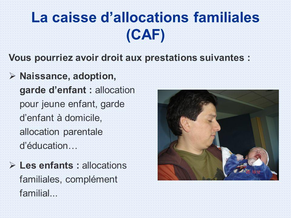 Naissance, adoption, garde denfant : allocation pour jeune enfant, garde denfant à domicile, allocation parentale déducation… Les enfants : allocation