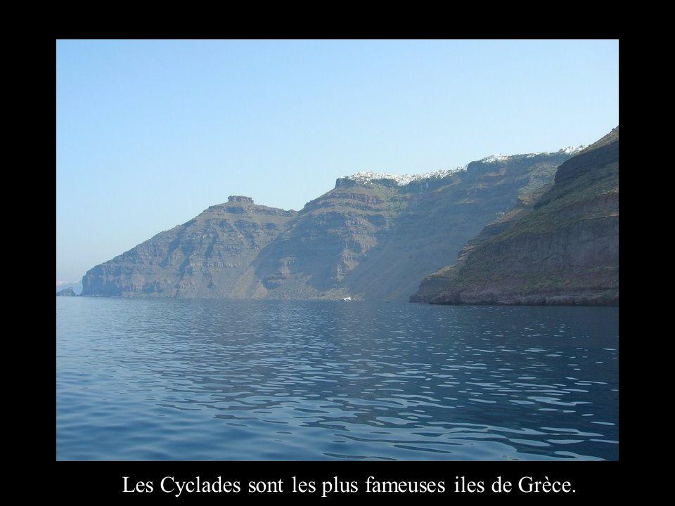 La photogénique Santorin, la première ile a la découverte de la Grèce
