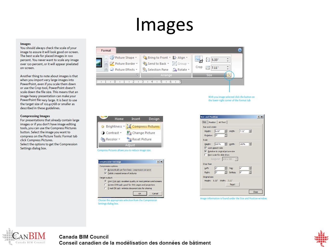 Canada BIM Council Conseil canadien de la modélisation des données de bâtiment Images