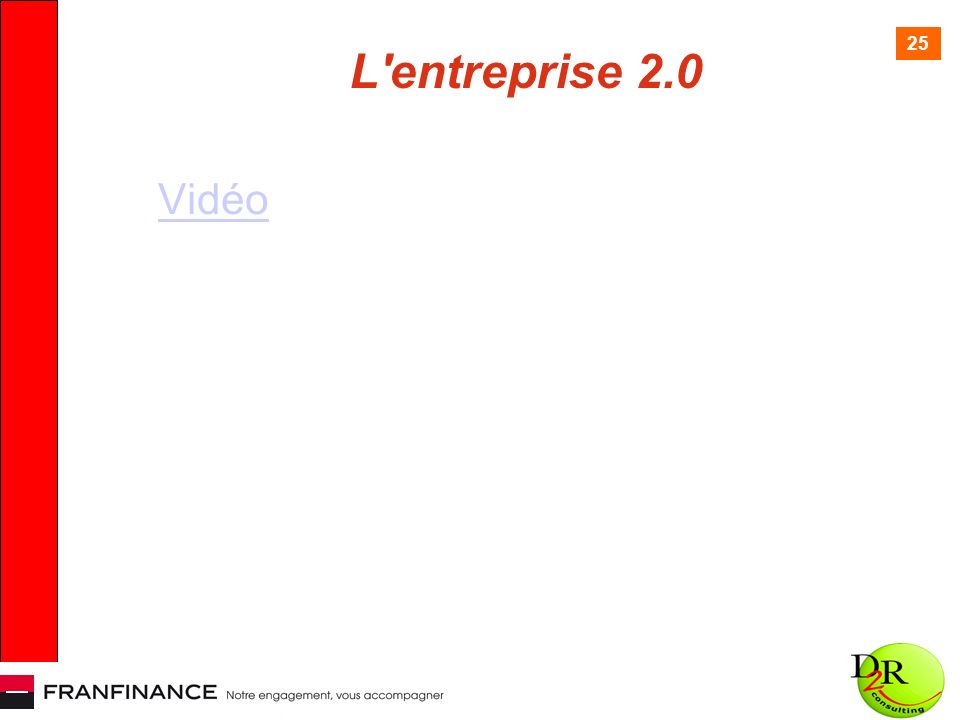 25 L entreprise 2.0 Vidéo