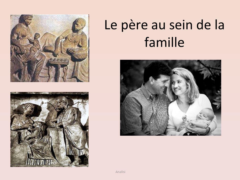 Analisi Le père au sein de la famille