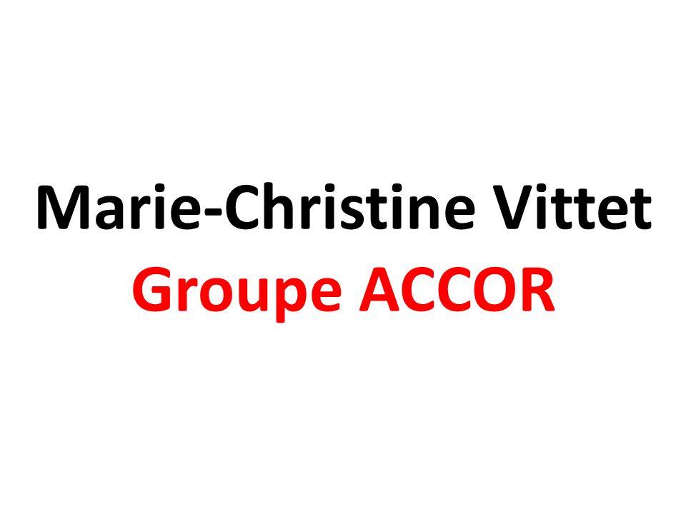 Marie-Christine Vittet Groupe ACCOR