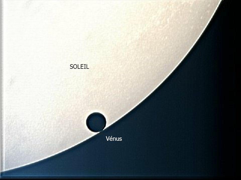 MERCURE SOLEIL Vénus