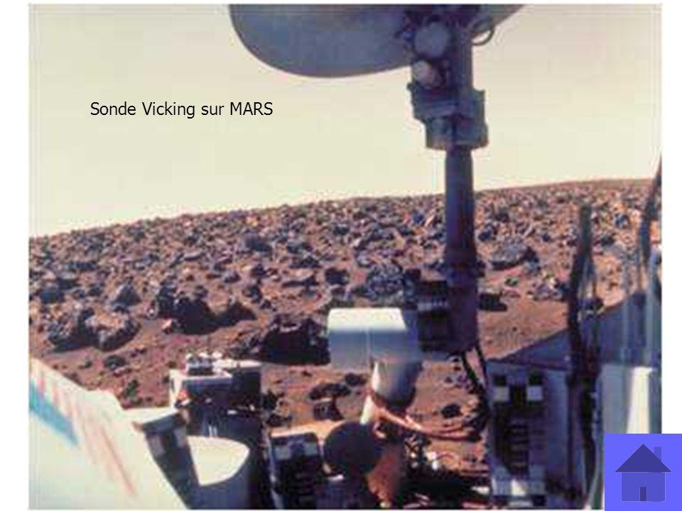 Sonde Vicking sur MARS