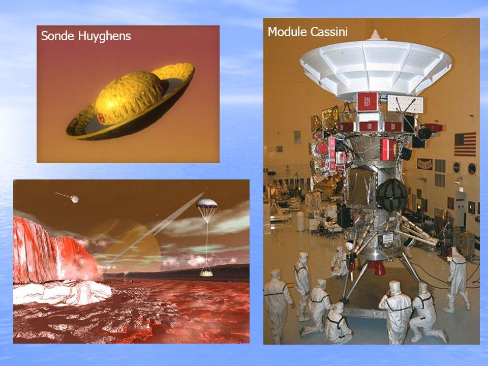 Sonde Huyghens Module Cassini