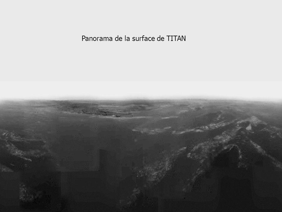 Panorama de la surface de TITAN