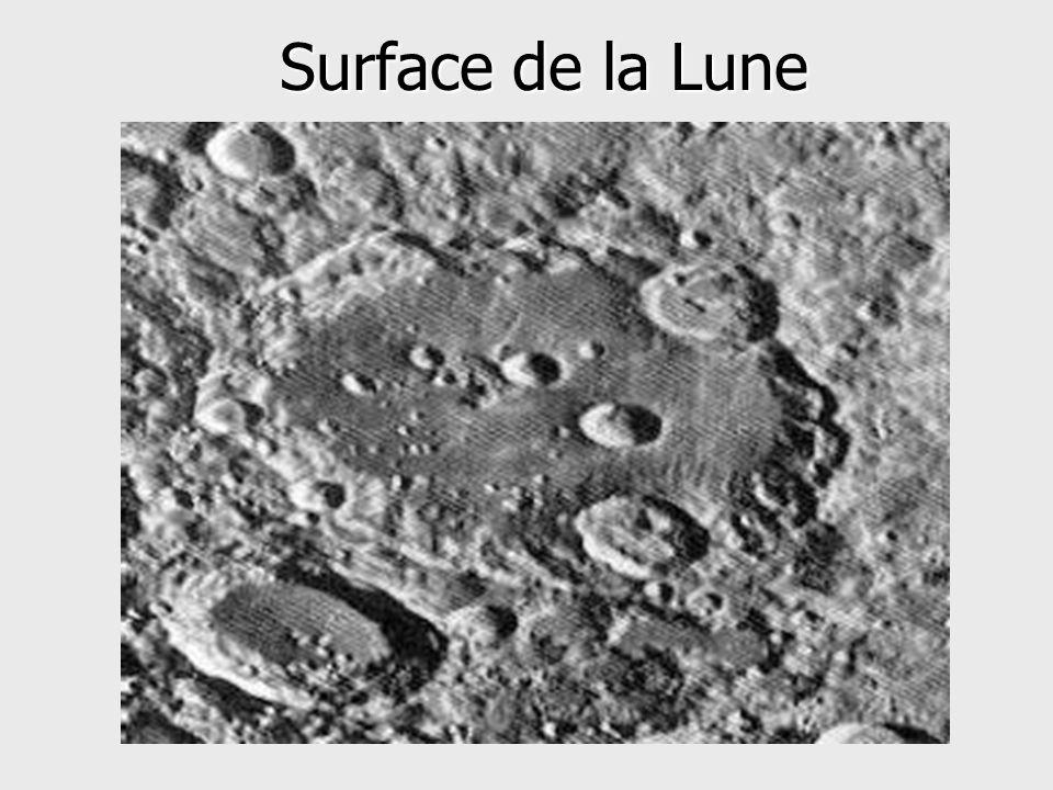 Surface de la Lune