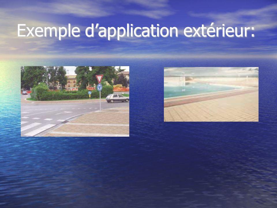 Exemple dapplication extérieur: