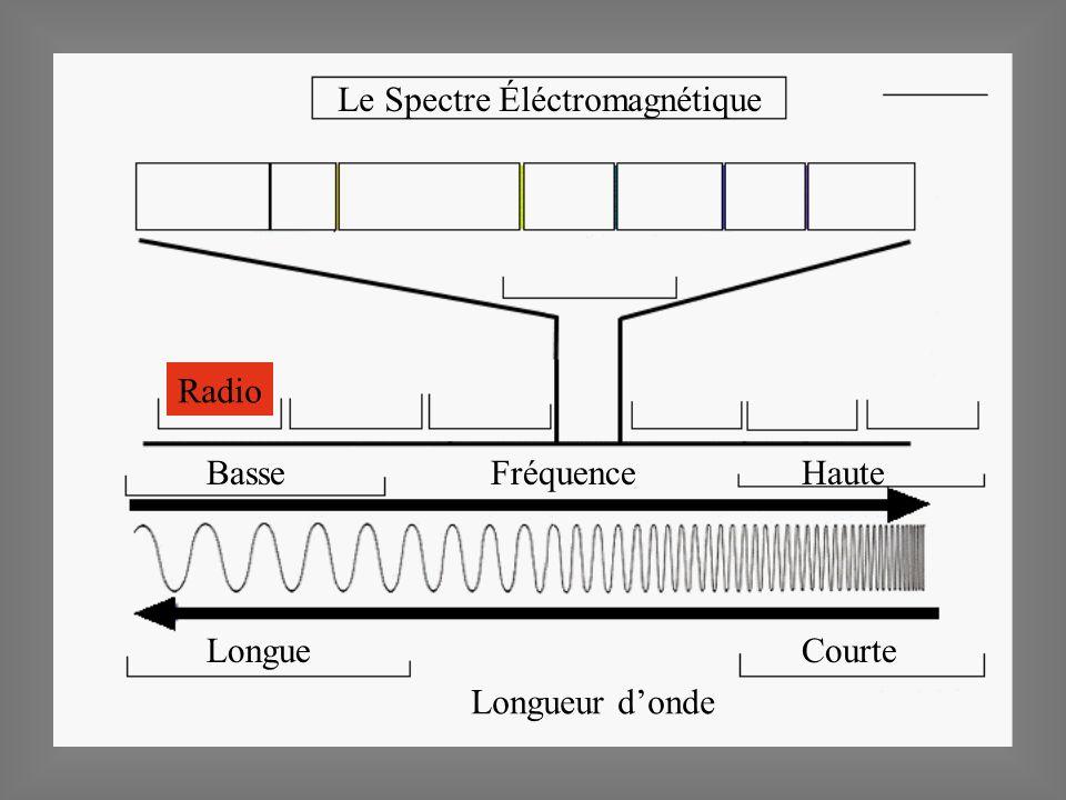 Le Spectre Éléctromagnétique Basse Haute LongueCourte Longueur donde Fréquence