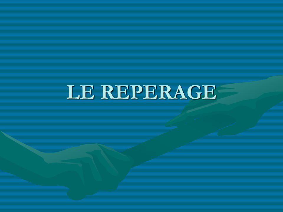LE REPERAGE