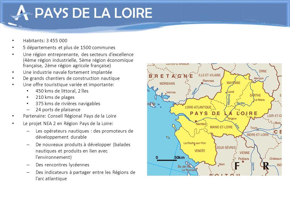 Habitants: 3 455 000 5 départements et plus de 1500 communes Une région entreprenante, des secteurs dexcellence (4ème région industrielle, 5ème région