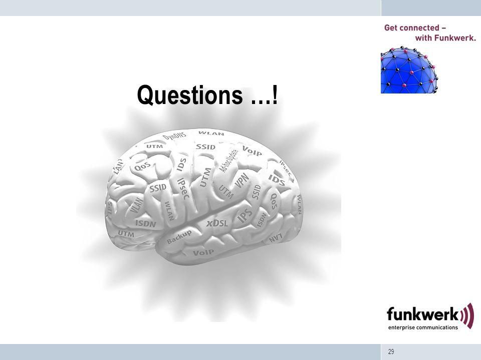 29 Questions …!