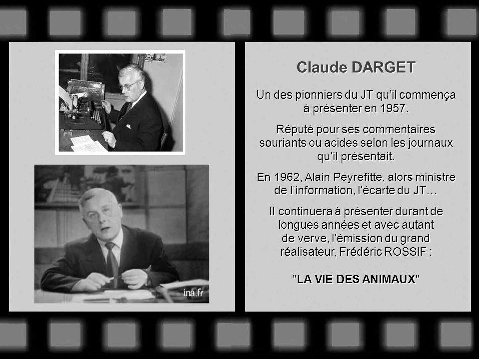 Jacques SALLEBERT Il assure le 1 er reportage sportif en direct diffusé à la télévision : larrivée du Tour de France 1948. 1949 : Fait partie des pion