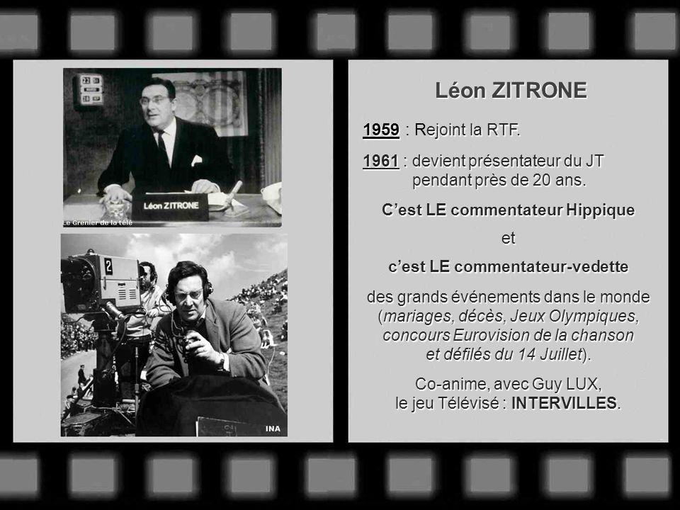 Joseph PASTEUR Après avoir été correspondant à Paris de RADIO-MAROC, il intègre en 1958 : le journal télévisé dont il fut lun des présentateurs. des p