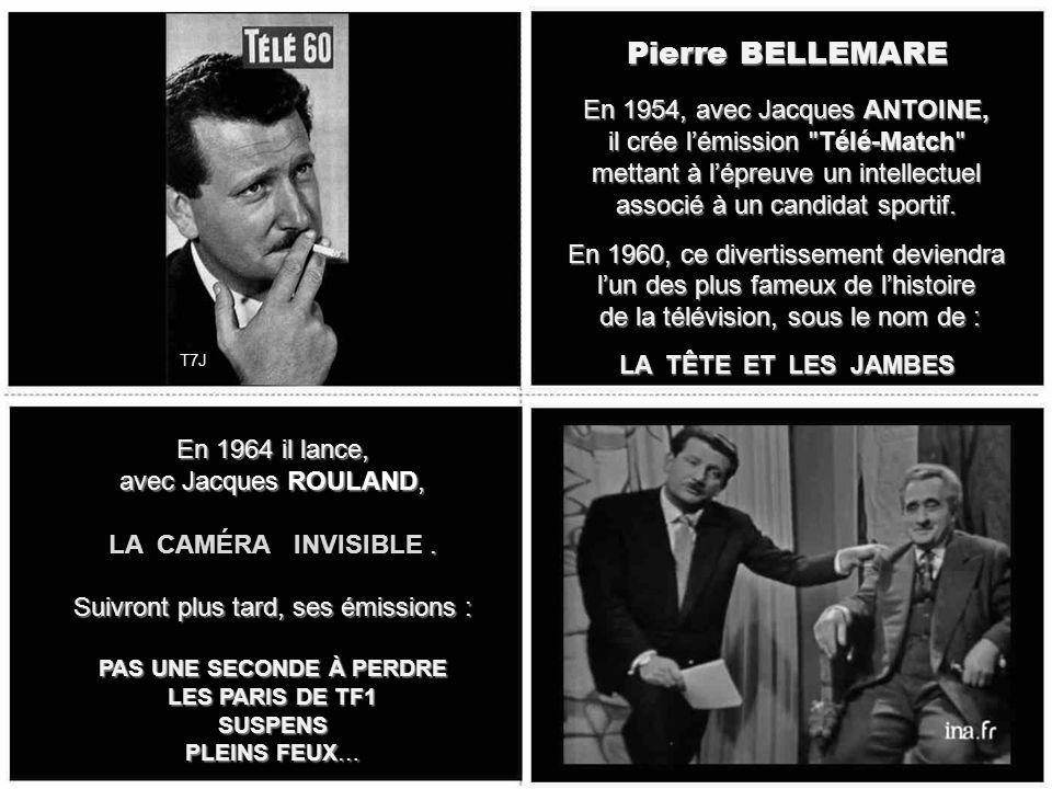 Roger LANZAC Il sera de 1962 à 1976, le Monsieur LOYAL de la célèbre émission de Gilles MARGARITIS, diffusée le mercredi soir, LA PISTE AUX ÉTOILES Ém