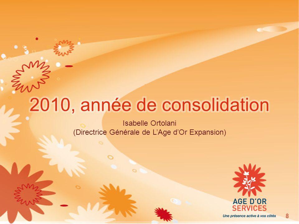 Isabelle Ortolani (Directrice Générale de LAge dOr Expansion) 8