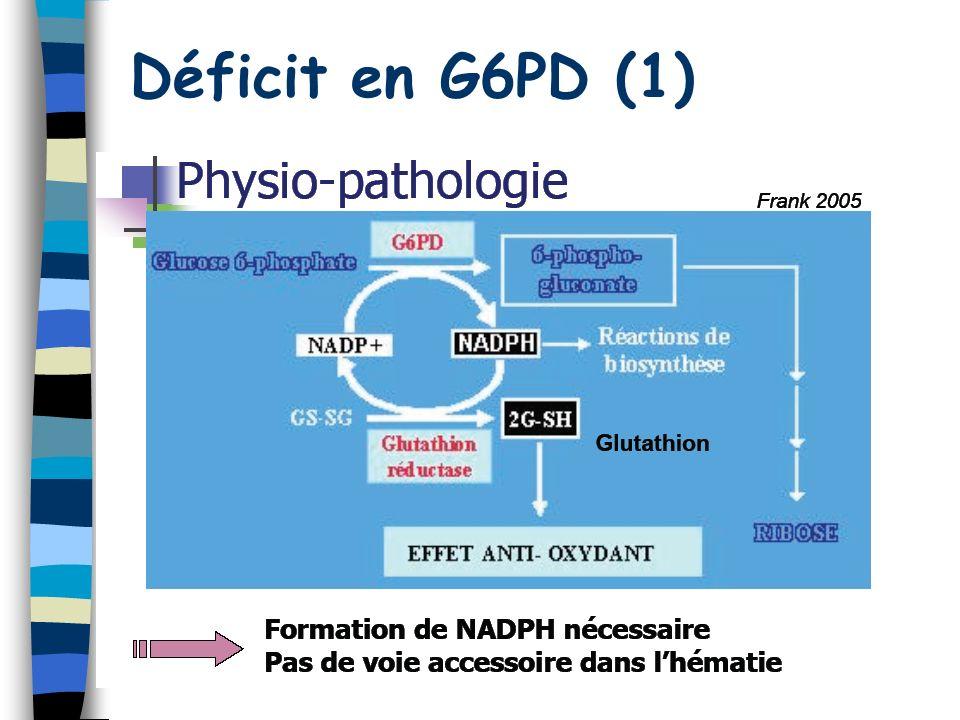 50 Déficit en G6PD (1)