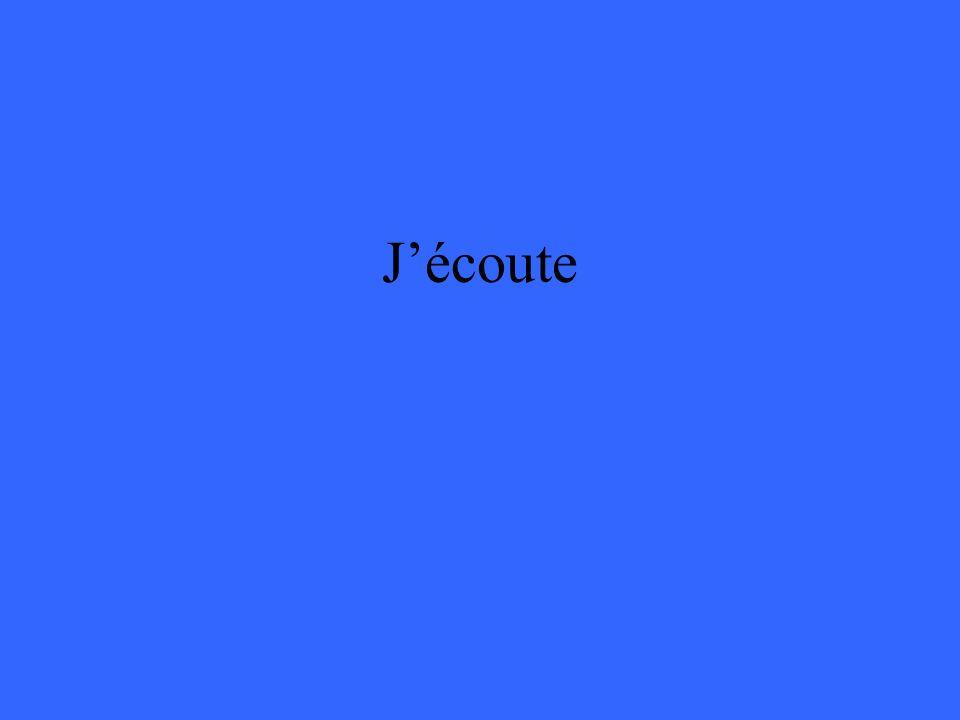 Jécoute