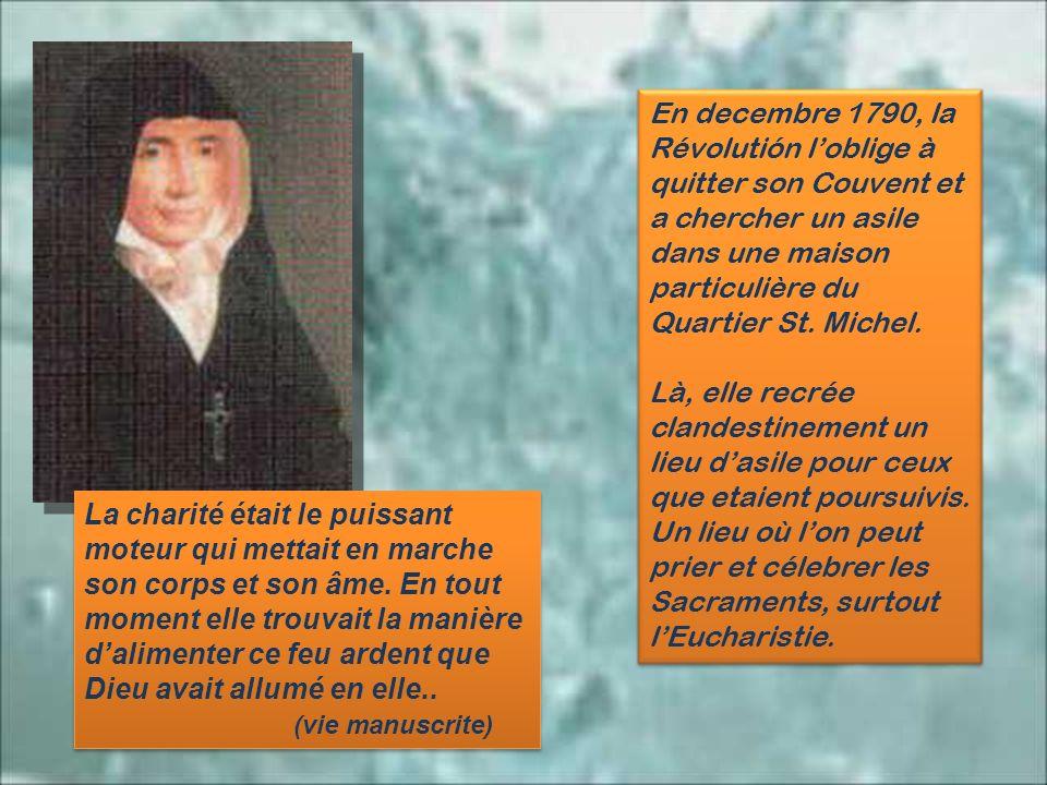 Elle avait à peine treize ans, lorsquelle demande avec insistance dêtre religieuse dans ce Monastère. Se consacrer à Dieu faisait depuis longtemps lob