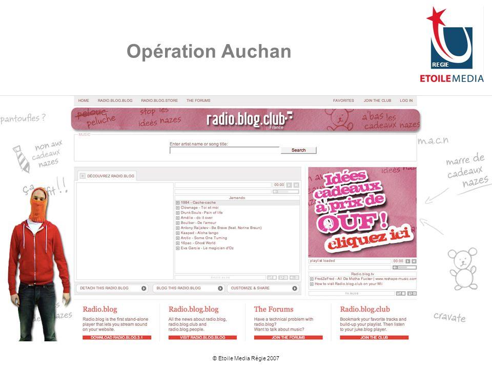 © Etoile Media Régie 2007 Opération Auchan