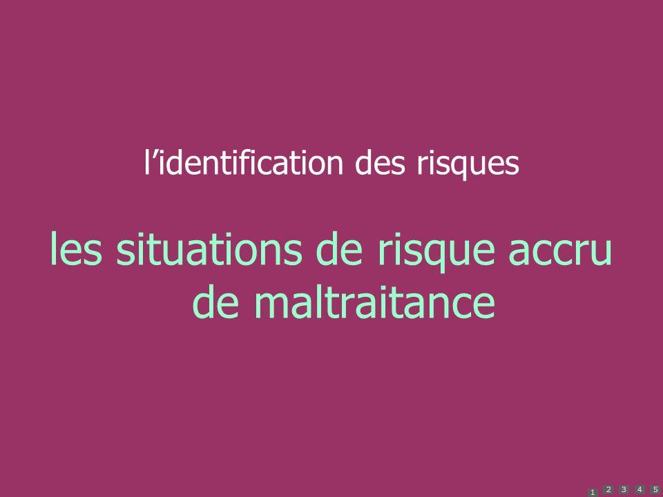 1 2345 lidentification des risques les situations de risque accru de maltraitance