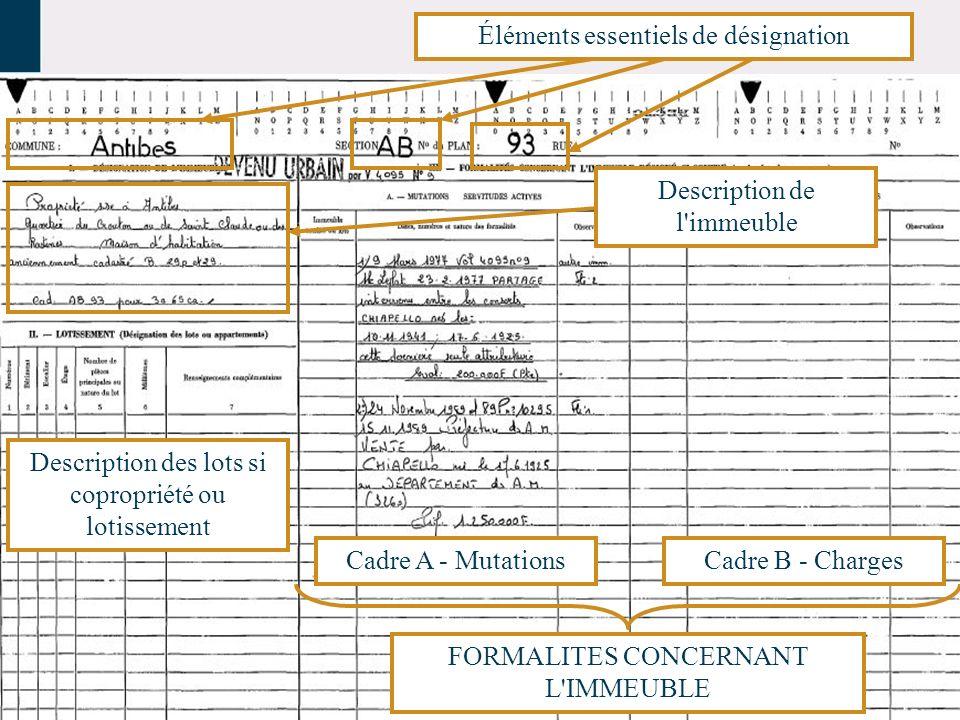 CONSTITUANT Parcelle DP 10 RESULTANTS Lot 1Lot 2Lot 3Lot N……..