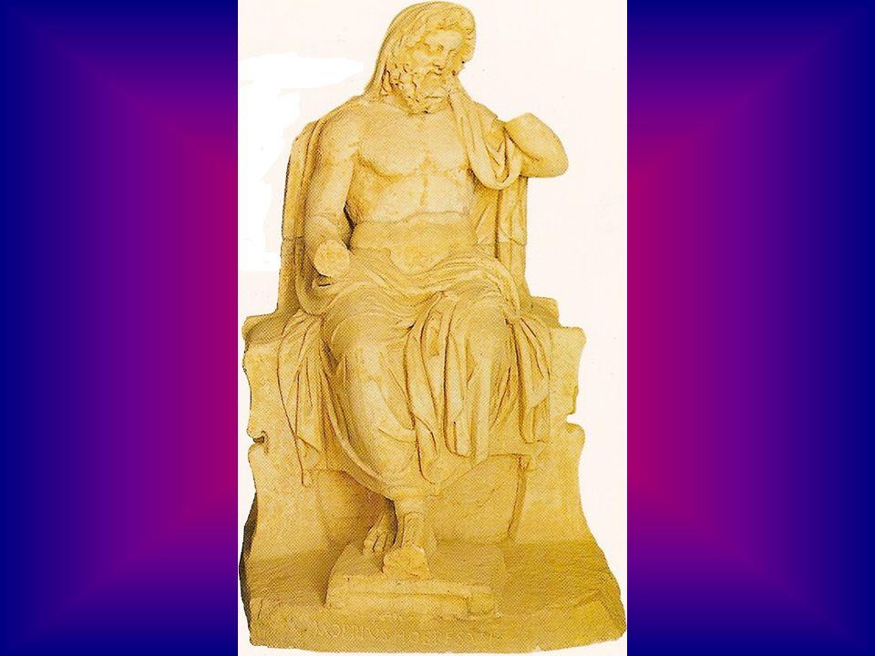 Cronos est devenu le dieux de lunivers.Gaia nest pas contente contre son fils Cronos.