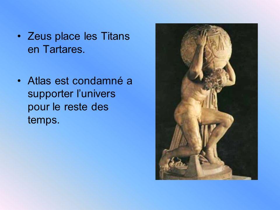 Athéna Fille de Zeus et de Metis est née de la tête de Zeus! Athènes porte son nom.