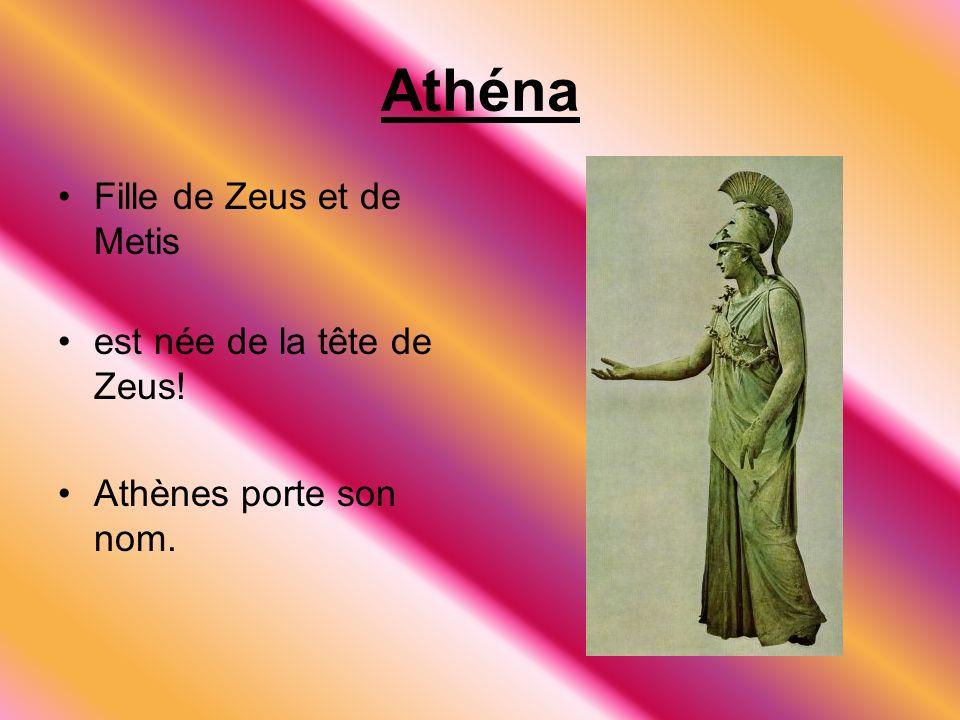 Hephaestus Le dieux du feu Il était faible, laid et handicapé. Devient forgeron