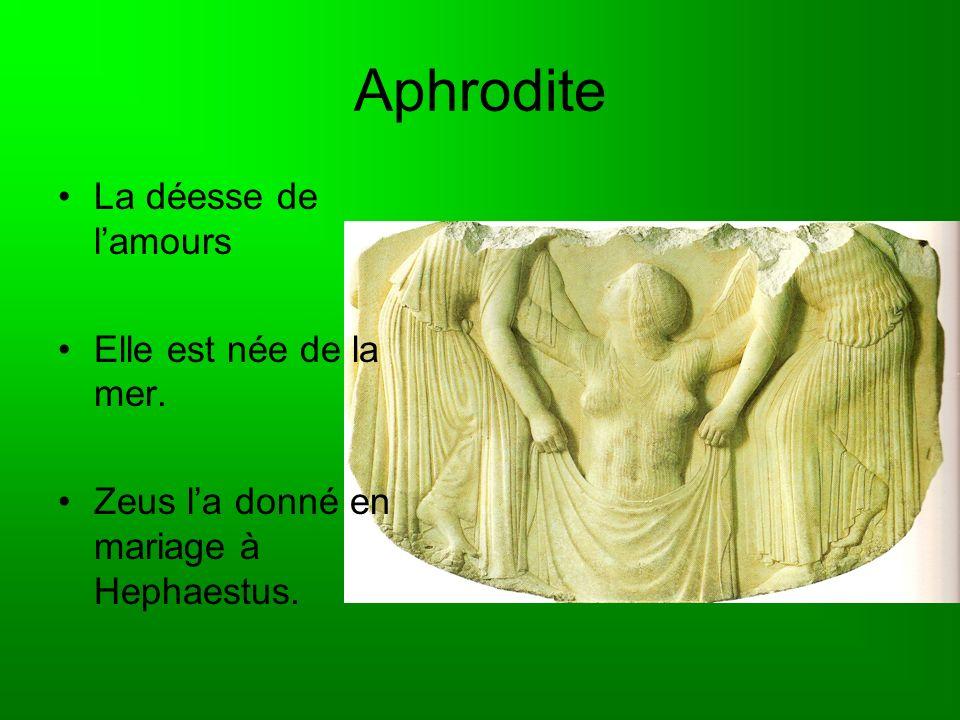 Hermes Le fils de Zeus Il était le messager des dieux
